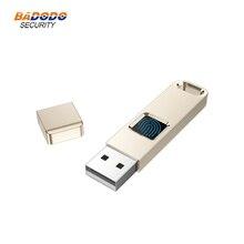 32GB 64GB parmak izi şifreli USB 2.0 Flash sürücü yüksek teknoloji kalem sürücü güvenlik bellek USB disk sopa