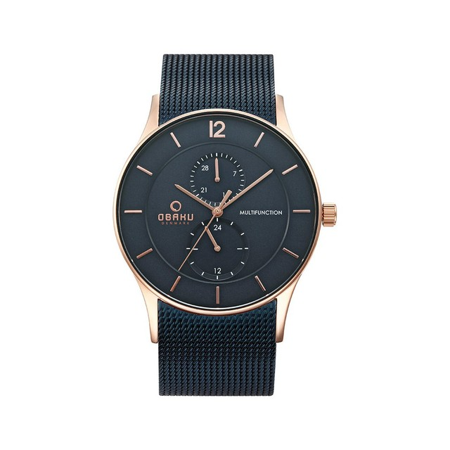 Наручные часы Obaku V157GMVLML мужские кварцевые на браслете