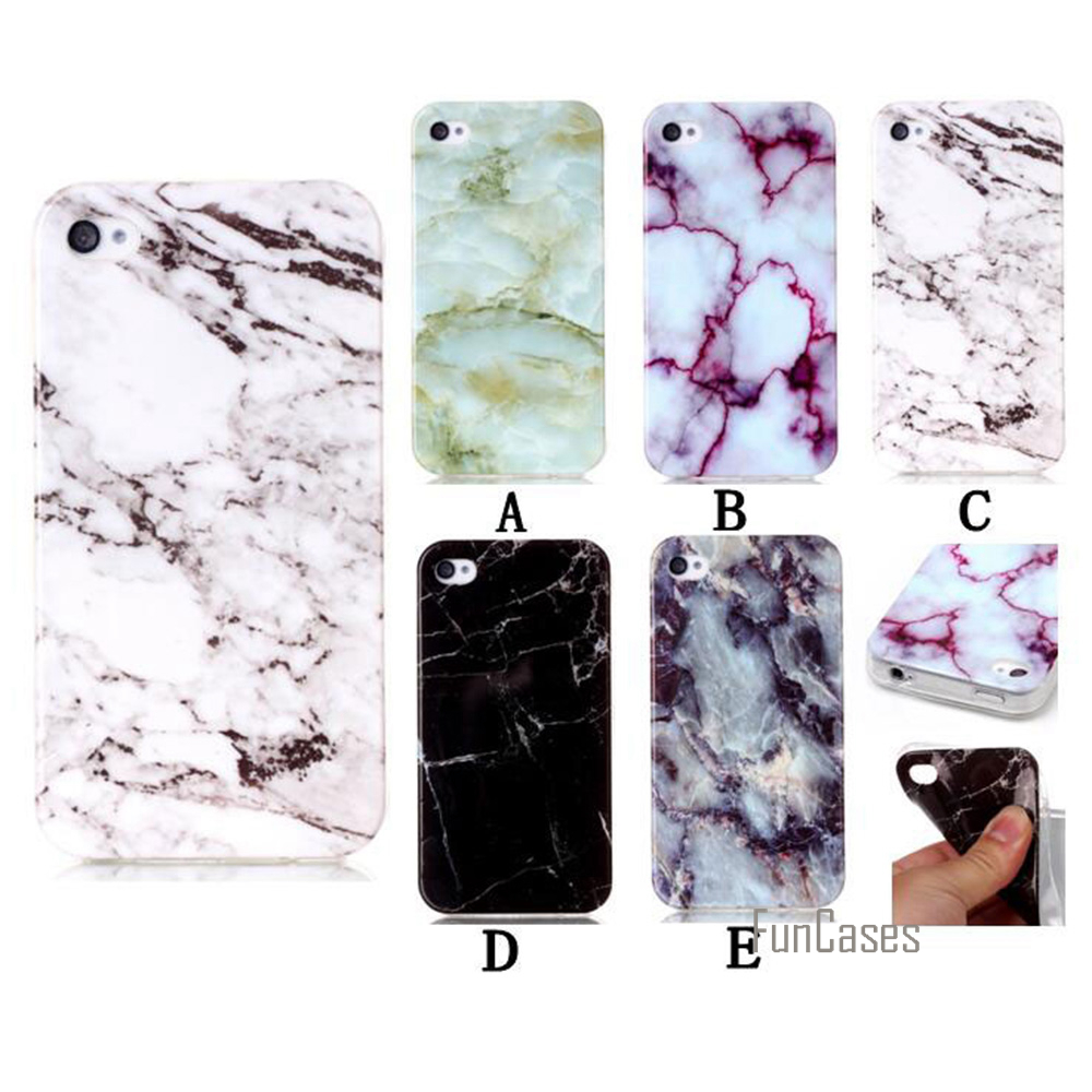 Back Case For iPhone 5S 5 SE Case Silicon Soft Ultra Thin TPU Marble Pattern Back Cover Celular Coque 4.0 inch Phone Bags