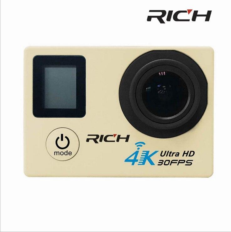 DHL 5pcs/lot V903D 4K Action Camera 2.0 Double LCD Display 16MP Sports WiFi Camera 30M Waterproof 170 angle HDMI sport camera цены