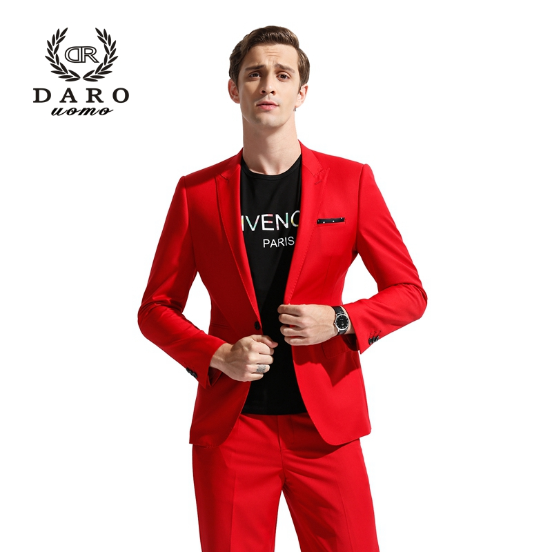 Daro men 39 s suits mens blazer slim suits casual jacket for Custom suits and shirts