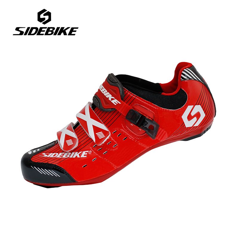 Sidebike New Men Road Bike Shoes Super Light Cycling Shoes Self-locking Non-slip Bicycle Shoes sapatilha ciclismo EUR 40-46 sidebike mens road cycling shoes breathable road bicycle bike shoes black green 4 color self locking zapatillas ciclismo 2016