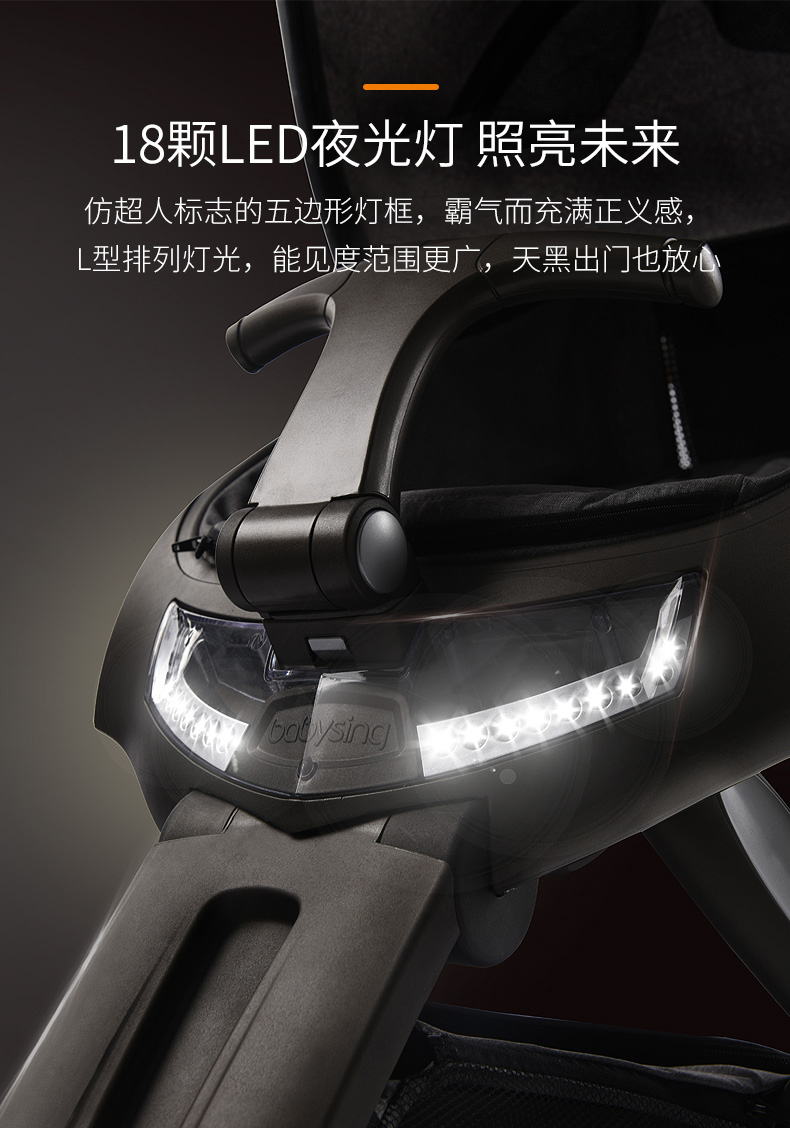 do diodo emissor de luz plástico, carrinho