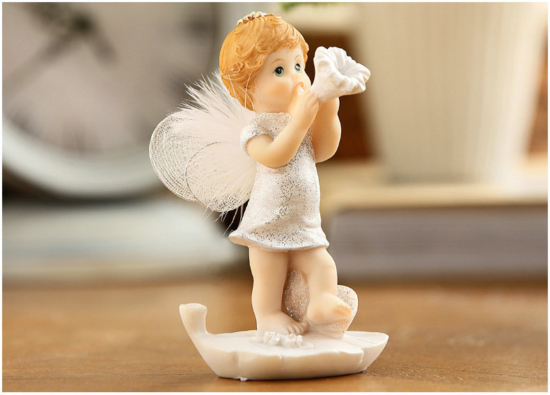 Cute Baby Angel Figurine (8)