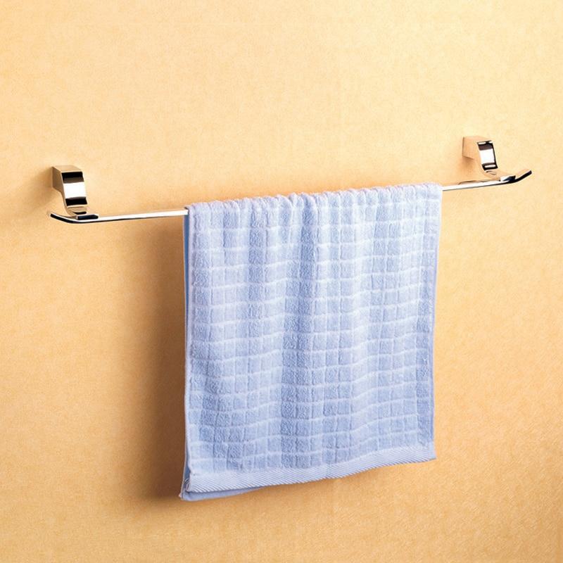 ФОТО Copper Hardware Bathroom Accessory 23.6-Inches Smooth Modern Decor  Polished Chrome Single Towel Bars/Racks  with Wall Mounted