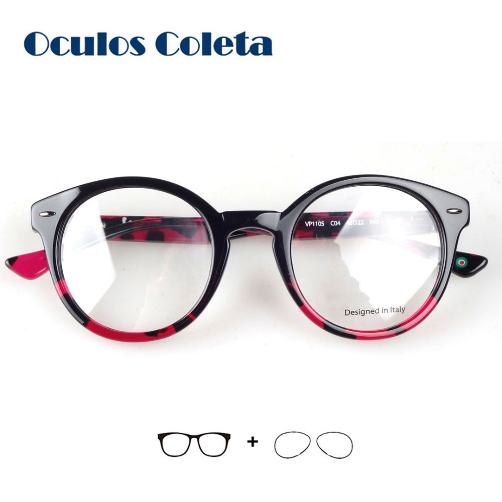 Retro Prescription Glasses For Women Myopia/Astigmatism/Presbyopia