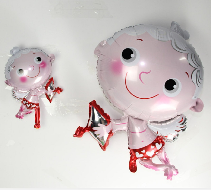 1PC hot Big & mini Cupid balloons Wedding Marriage Birthday Party decoration foil balloons baby shower party supplier gift globo