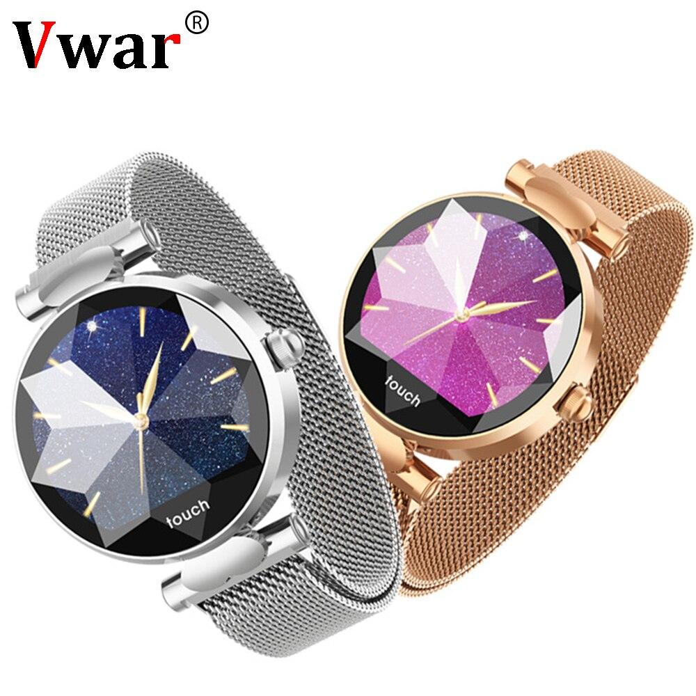 H3 femmes montre intelligente mode dames montres femme moniteur de fréquence cardiaque pression artérielle Fitness activité Tracker H2 H1 Smartwatch