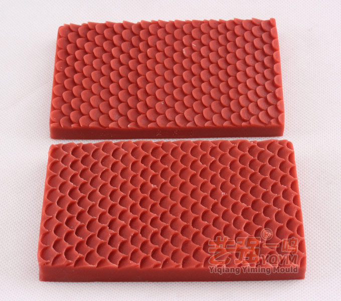 3D Mermaid Fish Snake Scale Lace Border Mat Cake Decorating Texture Silicone Molds Baking Tools Gumpaste Chocolate Moulds E941