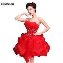 Suosikki Vestido de noiva без бретелек вина асимметричное, коктейльное платье Соблазнительная официальная Вечеринка платье с мини-платья