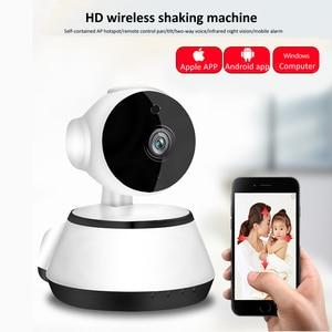Image 2 - Wsdcam 720P IP מצלמה אלחוטי אבטחת בית IP מצלמות מעקב מצלמה Wifi ראיית לילה Cctv מצלמה תינוק צג מיני מצלמת