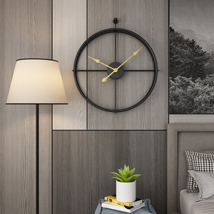 Image 2 - 80CM Large Wall Clock Modern Design Clocks For Home Decor Office European Style Hanging Wall Watch Clocks