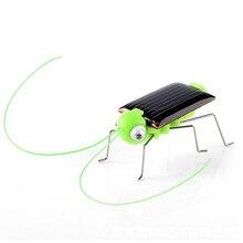 Мини комплект Новинка Малыш усиленный солнечной энергией паук таракан Мощность робот ошибка Кузнечик образования Игрушка-гаджет для детей A508