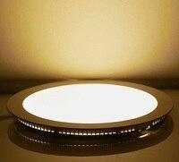 Lampa sufitowa 2018 Darmo Ce Wysyłka New Hot Ultra Thin projekt 1 sztuk/partia Wpuszczone 20 w Panel Led Światła Sufitowe I Zimno Downlight