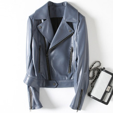 2018 New Fashion Genuine Sheep Leather Jacket H31
