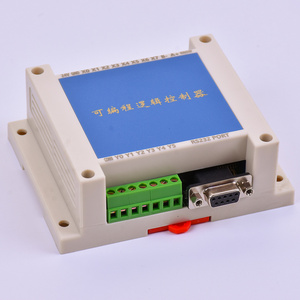 Image 2 - PLC FX2N 10MT STM32 MCU 6 المدخلات 4 الترانزستور الناتج 2 AD وحدة 0 10 فولت المدمج في البطارية RTC وحدة تحكم المحرك تيار مستمر 24 فولت الضميمة