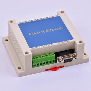 Image 2 - PLC FX2N 10MT STM32 MCU 6 wejście 4 wyjście tranzystorowe 2 moduł AD 0 10v wbudowany akumulator RTC sterownik silnika DC 24V obudowa