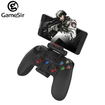 GameSir G3s 2.4Ghz Wireless Bluetooth Gamepad Controller for Android TV BOX Smartphone Tablet PC Gear VR with Bracket