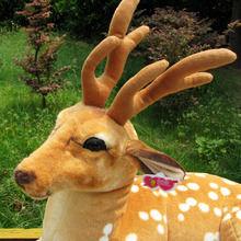 Pernycess original simulation sika deer plush toy doll 1# 90cm, Household articles gift free shipping