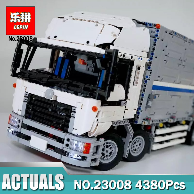 Lepin 23008 4380Pcs Technic Wing Body Truck 1389 Lepin Technical MOC Series Building Block Bricks Toys for Children Gift 23008 4380pcs technical series the moc wing body truck set compatible with 1389 educational building blocks children toys