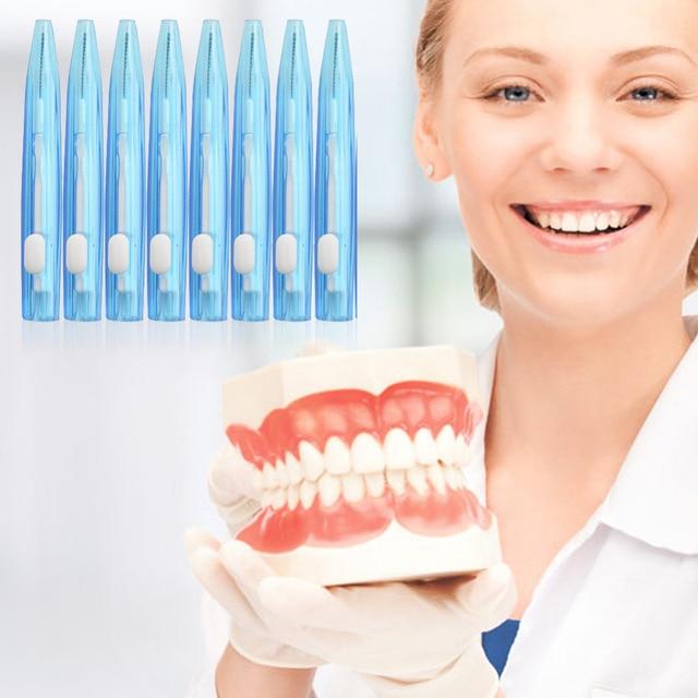 16 Pcs Interdental Sikat Berulang Kali Menggunakan Perawatan Gigi  Interdental Floss Sikat 0.7 Mm Lidah Tusuk 6e93c20716