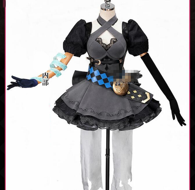 New Dress Anime Game SINoalice Japan server SINoALICE cosplay costume unique Gorgeous