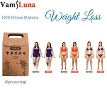 50X Slim Patch Tiszta Természetes Remedy Kínai Hagyományos Herbal Herb For Burn Zsír Diet és fogyás Karcsúsító