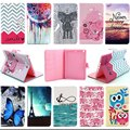For apple Ipad Mini 1/2/3 Tablet 10 pattern PU Leather Stand protective Cover Case For iPad Mini Retina Cases Accessories S4D67D