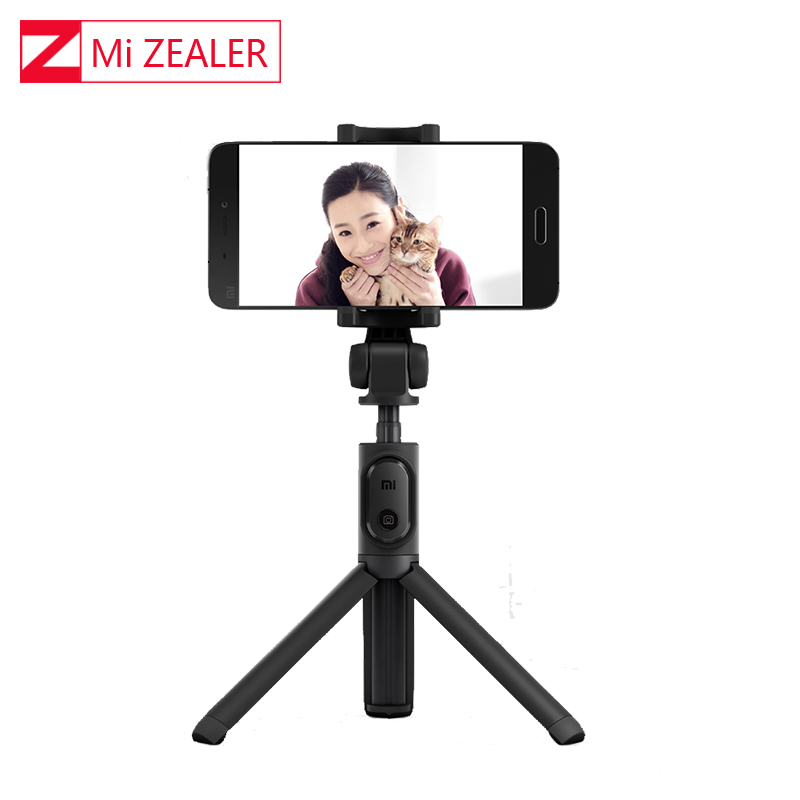 100% Original Xiao Mi Mi Faltbare Stativ Selfie Bluetooth Selfiestick Mit Wireless Shuttershutter Selfie Stick Für Mobiltelefone