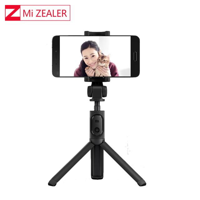 100% Original Xiaomi Mi Foldable Tripod Selfie Bluetooth Selfiestick With Wireless ShutterShutter Selfie Stick For Mobilephones