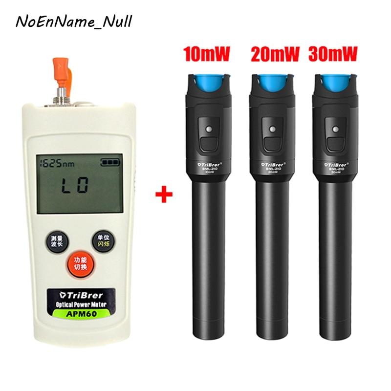 2 In 1 FTTH Fiber Optic Tool Kit Mini Optical Power Meter -70+6dBm and 10km 20km 30km Visual Fault Locator Fiber optic test pen