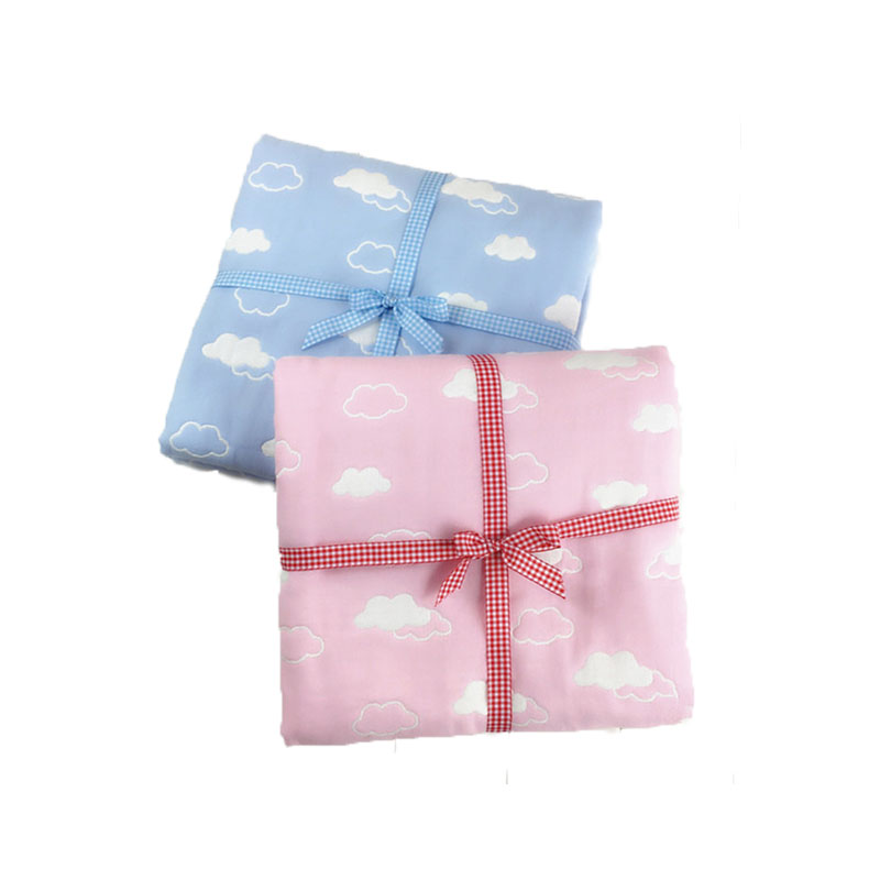 Gauze Child 6 Layer Is Made of Pure Cotton Baby Bag Was Baby Blanket Bath Towel 110 * 110 Cm TRQ1199