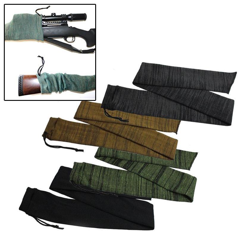 TRUE ADVENTURE Rifle Socks Gun Sleeve Slip Hunting Bag Sack Shooting Treated Gun Sock Case Large Scope Cover Rifle Holster New