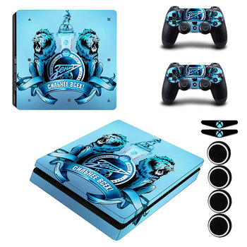FC Zenit Football PS4 Slim Skin Vinyl Protective Sticker Decal For Dualshock 4 Controller
