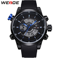 Original WEIDE Military Watches Men Sports Full Steel Quartz Watch Luxury Brand Waterproofed Diver Diving Watch Free Shipping