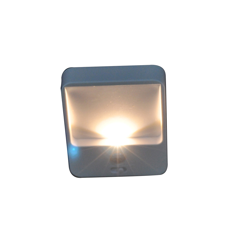 6pcs Hallway Night Light Motion Sensor Wireless Bright LED Energy Saving Stick Anywhere Kitchen Induction Stair Battery Powered