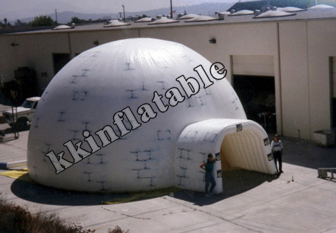 School Hotel Inflatable Outdoor Tent Dome For Party Rental Inflatable Event Tent