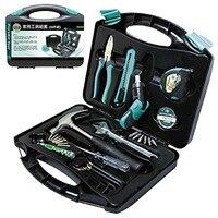 Pro'skit PK 2030 30PCS General Household Tool Kit Combination Electrician Hand Tool Set Electronic Repair Multi Tool Box