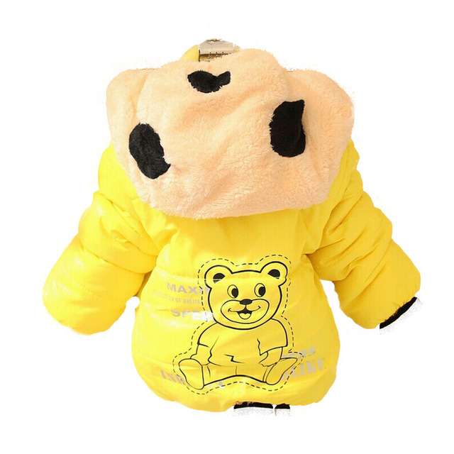 Panda Baby Boys Outerwear Coat