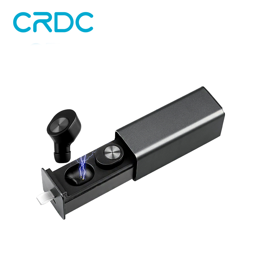 CRDC Mini Earbuds Headphones Stereo Wireless Bluetooth Earphone TWS i7 Headset With Charger Box x2t For iPhone and Andriods