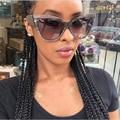 Nueva Marca de Fábrica Famosa Diseñador Retro Señoras de TOM Cat Eye Sunglasses Women TF Steampunk gafas de Sol de Los Hombres de Gran Tamaño Shades Gafas de Sol