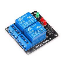 5PCS 2 Channel 5V Relay Module 5V lamp Low level for Arduino SCM Household Appliance Control PIC