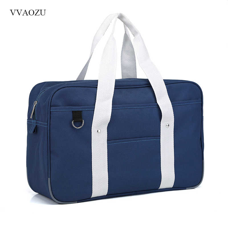 Portable JK Uniform Hand Bag Japanese Anime Student Shoulder Bag Oxford Handbag School Bookbag Travel Messenger Bags