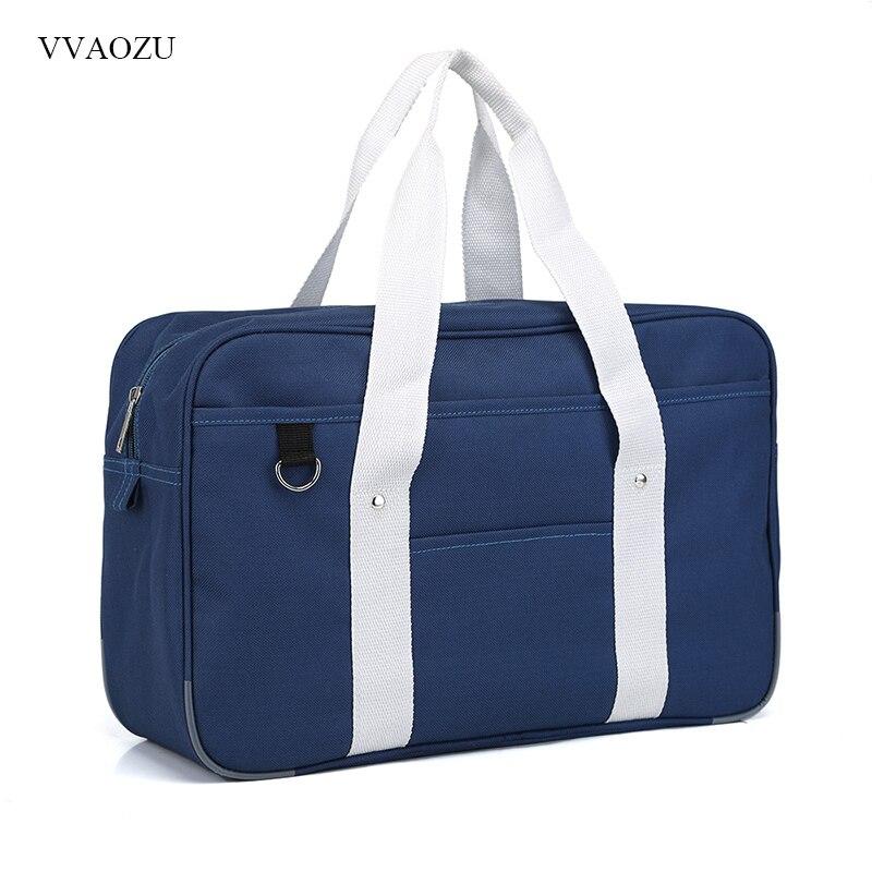 Portable JK Uniform Hand Bag Japanese Anime Student Shoulder Bag Oxford Handbag School Bookbag Travel Messenger Bags стоимость