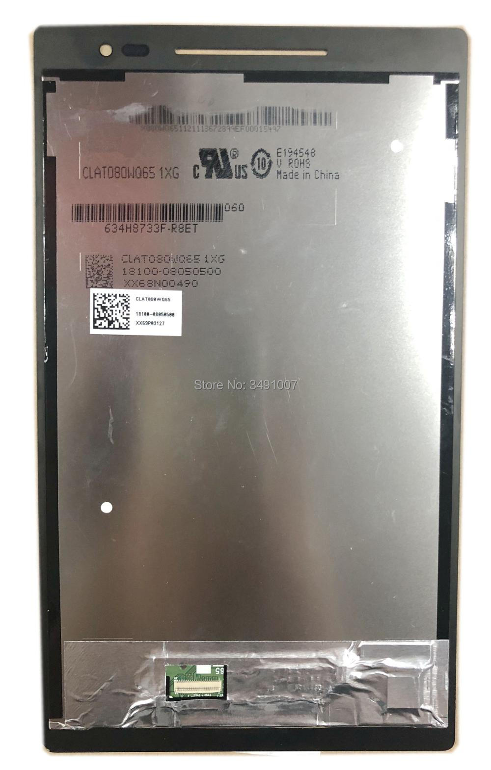 ÉCRAN LCD Écran Tactile Digitizer Assemblée CLAT080WQ65 1XG Pour ASUS Zenpad 8.0 Z380KL Z380M Z380CX P024 Tablet NOIR Couleur