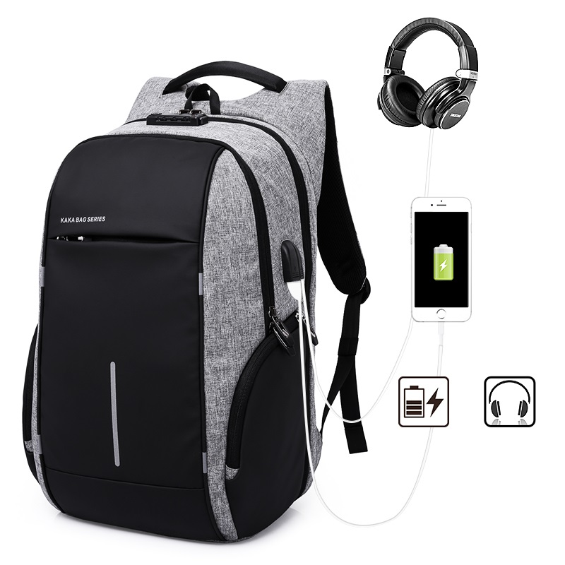 M154 Multifunction USB Charging 15.6 inch Laptop Backpacks For Teenager Fashion Male Mochila Leisure Travel Backpack Anti Thief
