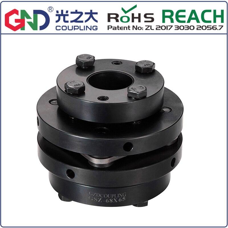 GSZ 45# steel single diaphragm expansion sleeve LOCKING accemblies series coupling shaftGSZ 45# steel single diaphragm expansion sleeve LOCKING accemblies series coupling shaft