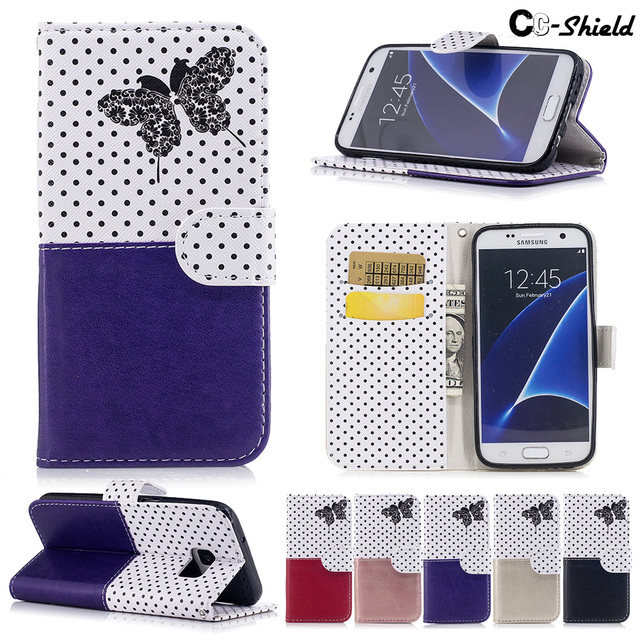 butterfly Case for Samsung Galaxy S7 S 7 7S SM-G930A SM-G930fd SM-G930f SM-G930U SM G930fd G930F G930U Case Phone Leather Cover