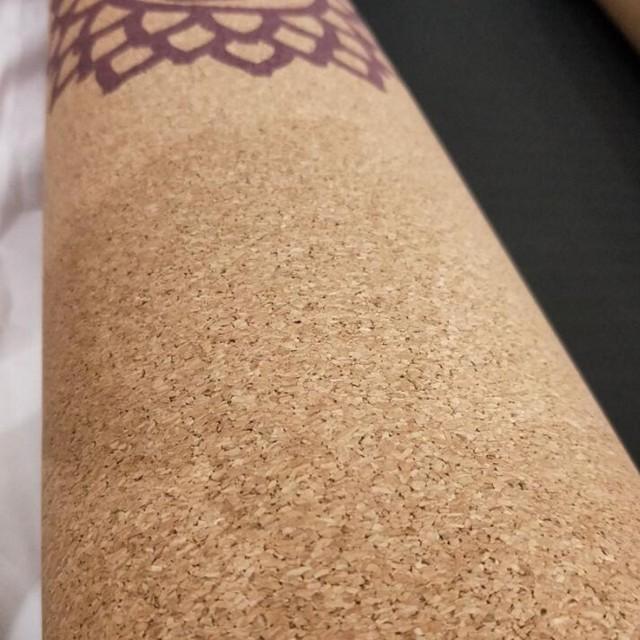 Non-Slip Cork Wood Yoga Mats