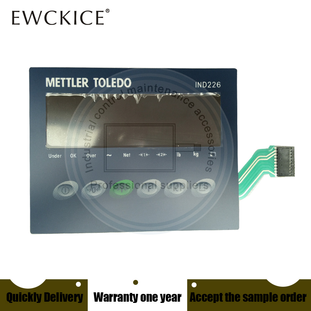 NEW METTLER TOLEDO IND226 IND 226 HMI PLC Membrane Switch Keypad Keyboard Industrial Control Maintenance Accessories